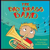 The Big Brass Band. Children Book - with music & sounds